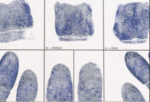 Ink Fingerprinting (Hard Card) in San Diego
